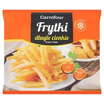 Carrefour Frytki długie cienkie mrożone