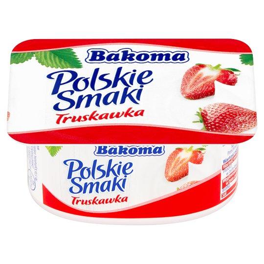 Bakoma Polskie Smaki Deser jogurtowy z truskawkami