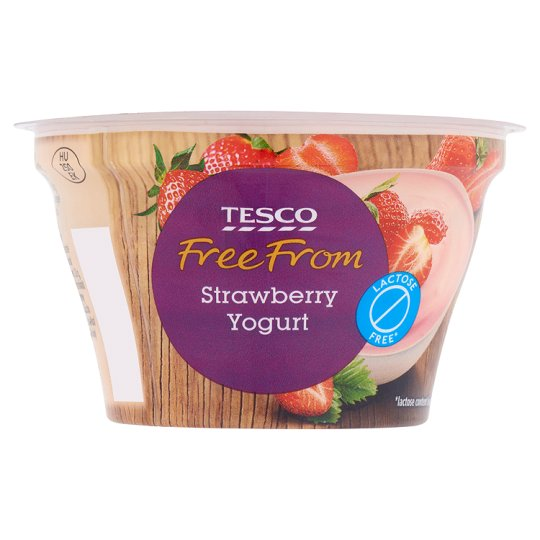 Tesco Free From Jogurt truskawkowy bez laktozy