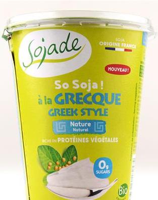 Jogurt sojowy jak grecki 400g Sojade