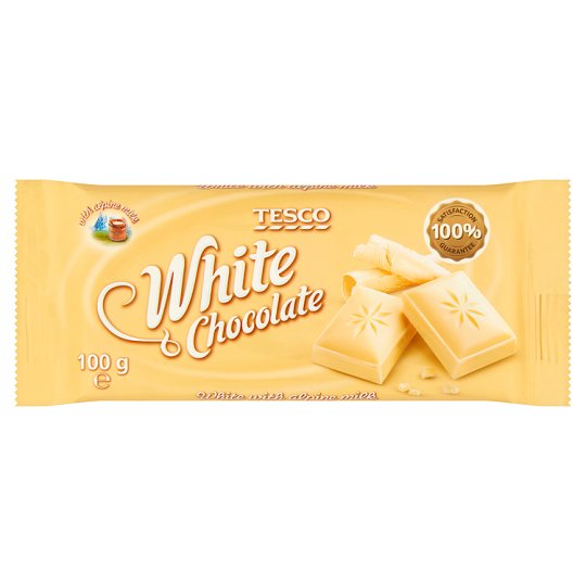 Tesco Biała czekolada