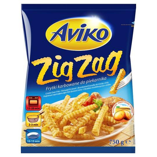 Aviko Zig Zag Frytki karbowane do piekarnika
