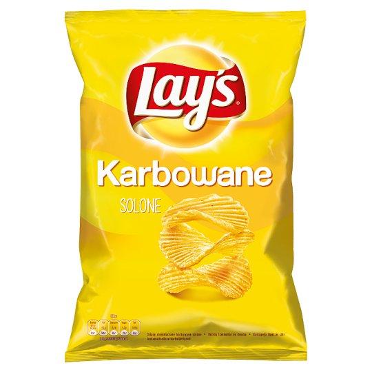 Lay's Chipsy ziemniaczane karbowane solone