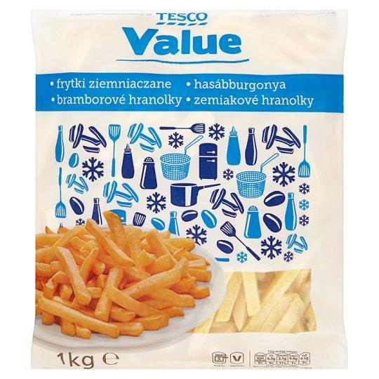 Tesco Value Frytki ziemniaczane proste
