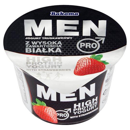 Bakoma Men Pro Jogurt truskawkowy z wysoką zawartością białka