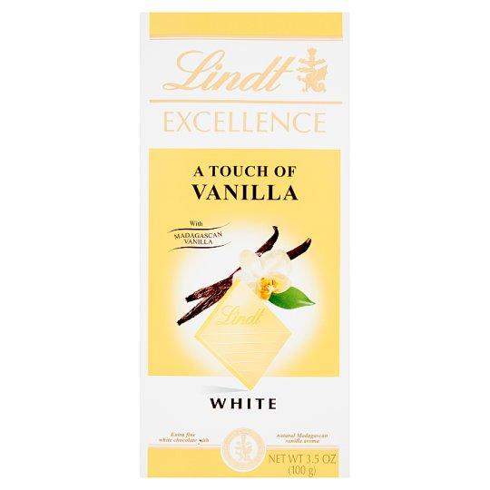 Lindt Excellence Czekolada biała z naturalnym aromatem wanilii Madagaskar