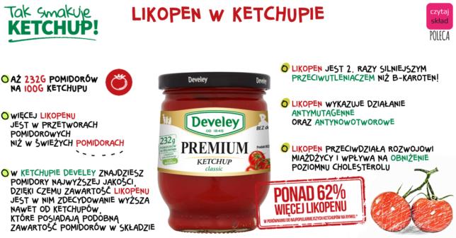 Develey ketchup