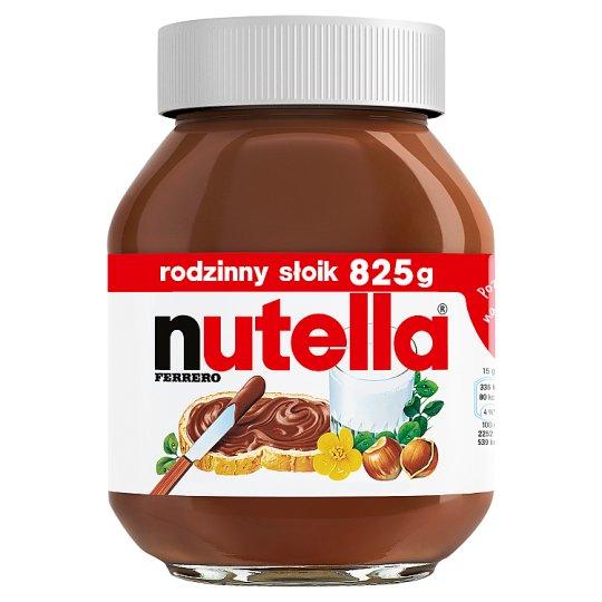 Nutella Krem do smarowania z orzechami laskowymi i kakao