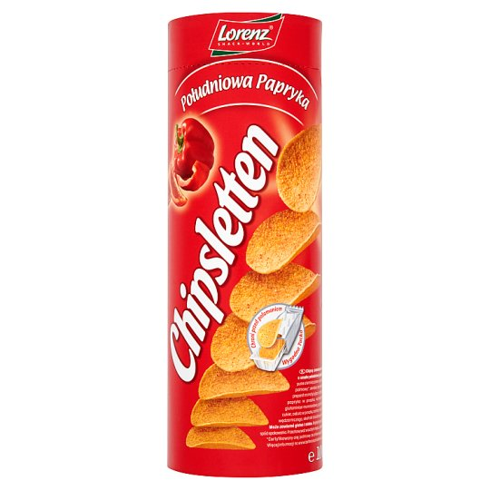 Chipsletten Południowa papryka Chipsy ziemniaczane