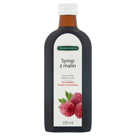 Premium Rosa - Syrop malinowy