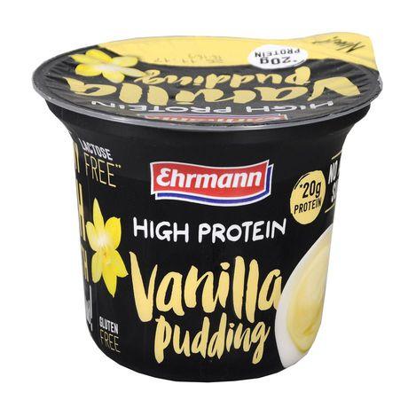 Ehrmann - Deser mleczny o smaku waniliowym z wysoką zawartością białka