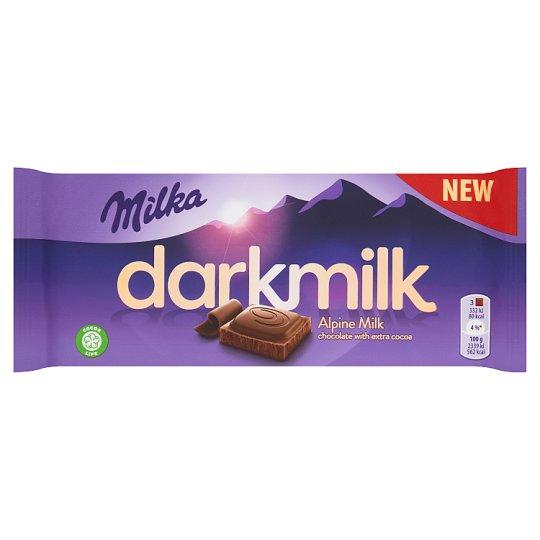 Milka Darkmilk Czekolada mleczna