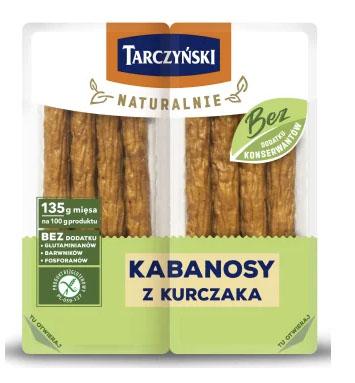 TARCZYŃSKI Naturalnie Kabanosy z kurczaka