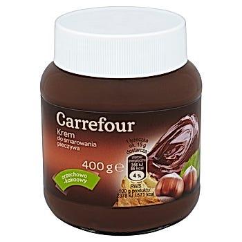 Carrefour Krem do smarowania pieczywa orzechowo-kakaowy