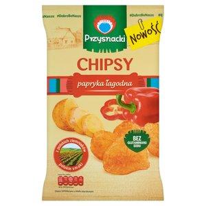 Przysnacki Chipsy Papryka Łagodna