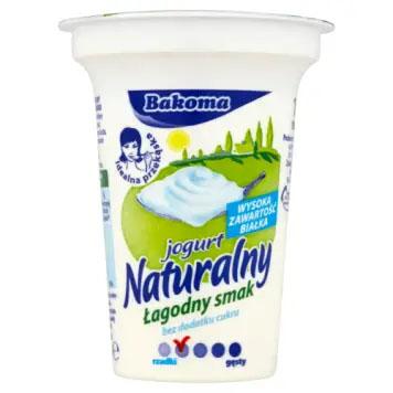 BAKOMA Jogurt Naturalny Łagodny Smak