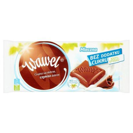 Wawel - Czekolada mleczna bez dodatku cukru