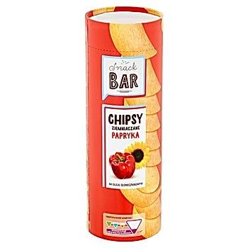 Snack Bar Chipsy ziemniaczane papryka