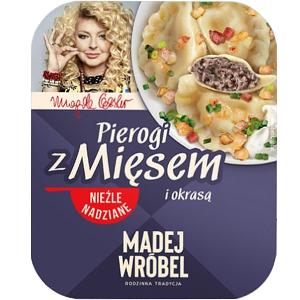 Madej Wróbel Pierogi Z Mięsem I Okrasą