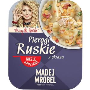 Madej Wróbel Pierogi Ruskie Z Okrasą