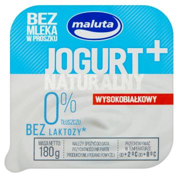 MALUTA Jogurt naturalny wysokobiałkowy 0% bez laktozy