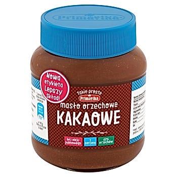 Primavika Masło orzechowe kakaowe