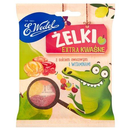 E. Wedel - Żelki extra kwaśne z sokiem owocowym i witaminami