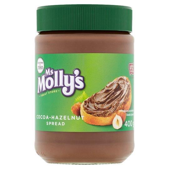 Ms Molly's Krem do smarowania z kakao i orzechów laskowych