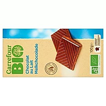 Carrefour Bio Czekolada mleczna