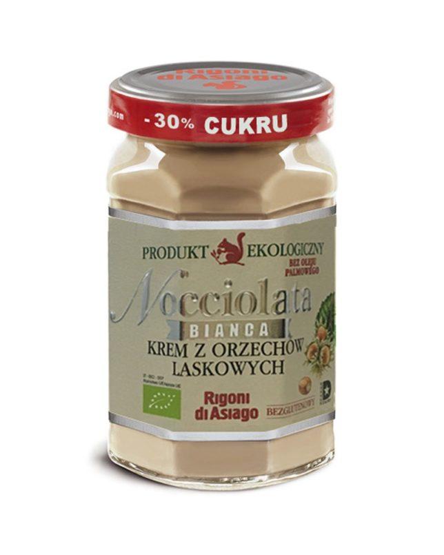 Nocciolata 'BIANCA' – krem orzechowy laskowych bez dodatku kakao