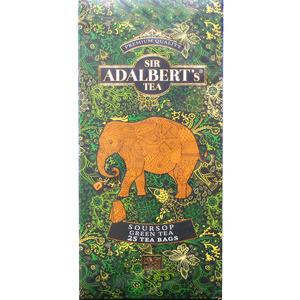Adalbert's Soursop Green Tea Herbata Zielona Z Wyciągiem Z Soursop
