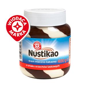 Wiodąca Marka Nustikao Krem Mleczno-Kakaowy