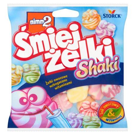 nimm2 - Śmiejżelki Shaki żelki owocowe