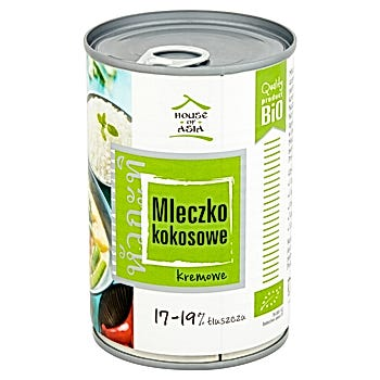 House of Asia Mleczko kokosowe BIO