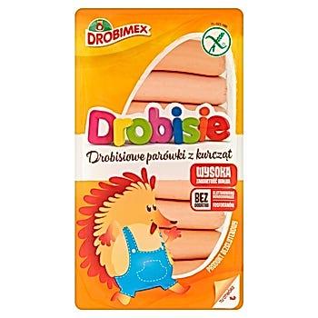Drobimex Drobisie Drobisiowe parówki z kurcząt