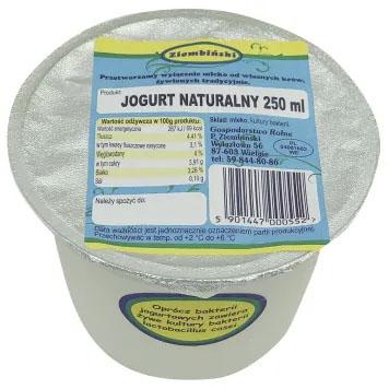 ZIEMBIŃSKI Jogurt naturalny