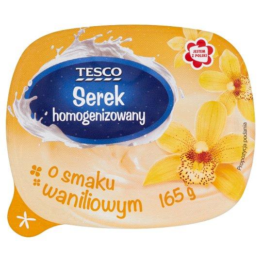 Tesco Serek homogenizowany o smaku waniliowym