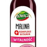 Łowicz Witalność Syrop o smaku malinowym