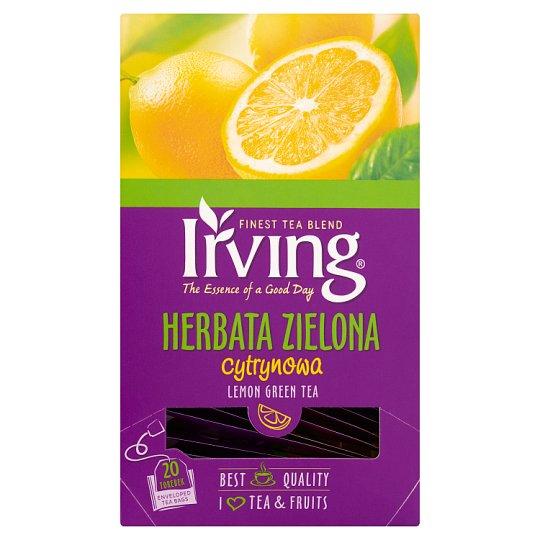 Irving Herbata zielona cytrynowa