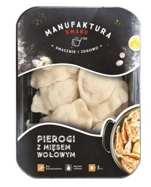 MANUFAKTURA SMAKU Pierogi z mięsem wołowym
