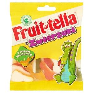 Fruittella Zwierzaki Żelki O Smaku Owocowym