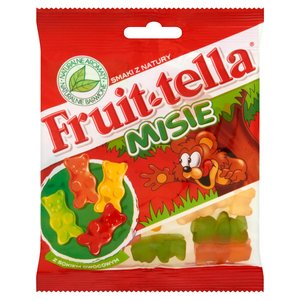 Fruittella Misie Żelki O Smaku Owocowym