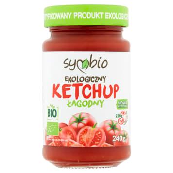 SYMBIO Ketchup łagodny bezglutenowy EKO