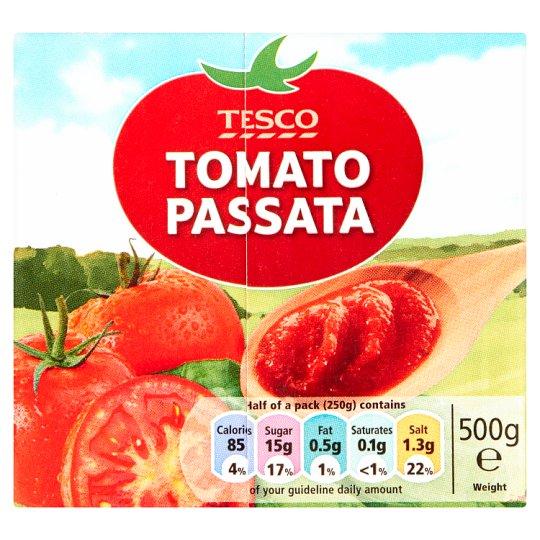 Tesco Tomato Passata Przecier pomidorowy
