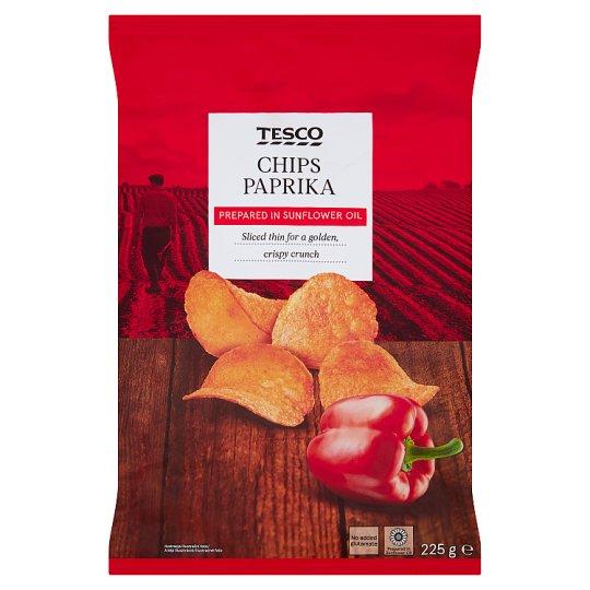 Tesco Chipsy ziemniaczane o smaku papryki