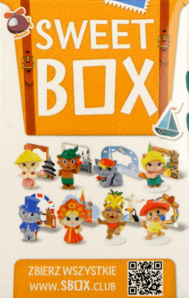 IMD sweet box, żelki i plastikowa zabawka