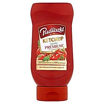 Pudliszki Ketchup łagodny premium