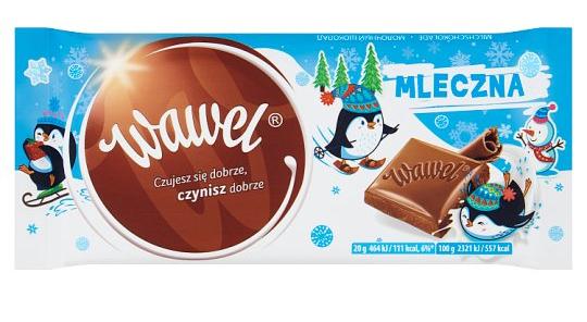 Wawel Czekolada mleczna