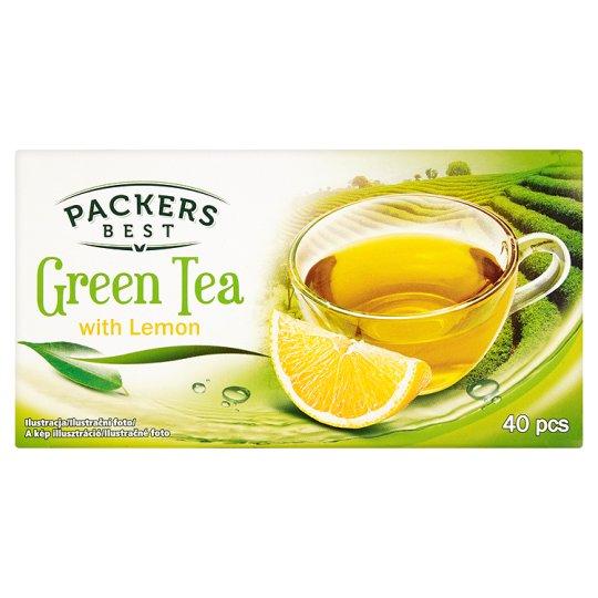 Packers Best Herbata zielona o smaku cytrynowym