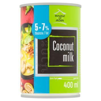 HOUSE OF ASIA Mleczko kokosowe 5-7% tłuszczu